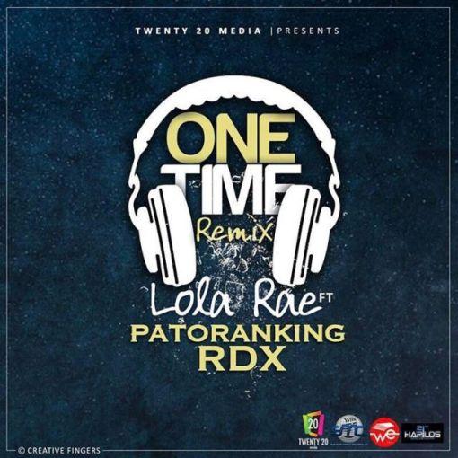 Lola-Rae-ft-Patoranking-x-RDX-One-Time-Remix-mp3-image