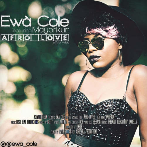 Ewà Cole ft. Mayorkun – AFRO LOVE (Official Video) Artwork